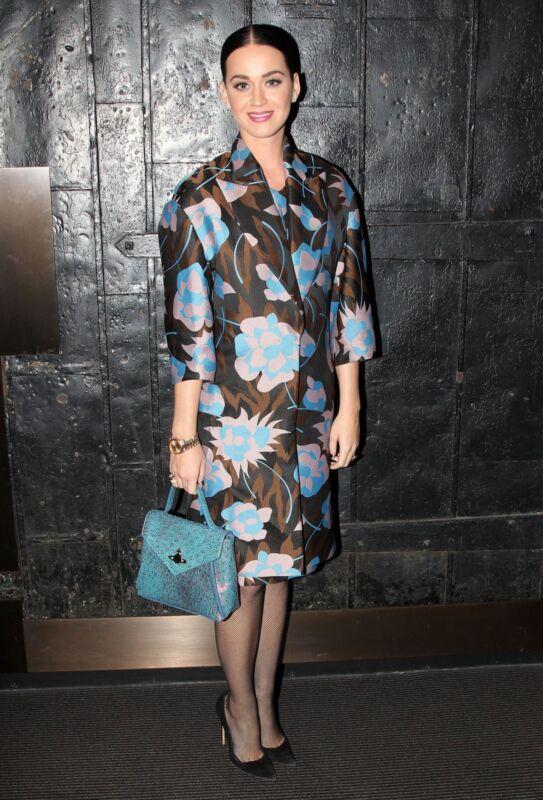Pop-Diva mit Fashion-Know-How: Katy Perry präsentiert die neue Trapezform (Bruce Glikas/Getty Images)