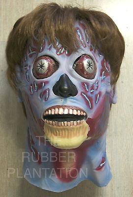 Sie Leben Maske Halloween Alien Latex Voll Kopf & Hals Verkleidung (Sie Leben Alien Kostüm)