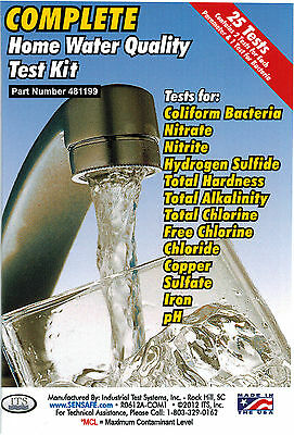 Complete 13 Test Water Test Kits For Home Drinking Well Water