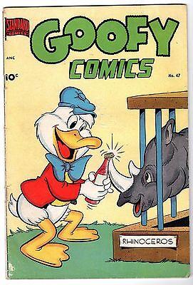 Goofy Comics #47, Very Good Condition'
