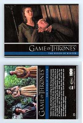 Winds Of Winter #29 Game Of Thrones Season 6 Rittenhouse 2017 Trading Card