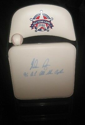 "Nolan Ryan""Noly Grail""Auto 1995 All-Star VIP Game Chair ""AL All Star Captain""1/1"