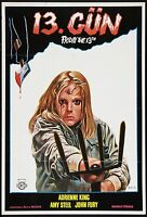 Pellicola Film Riproduzione Venerdì 13th 2 Poster Stampa A3 Questo È Un Poster -  - ebay.it