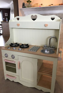 """Wooden """"Country"""" style play kitchen"""