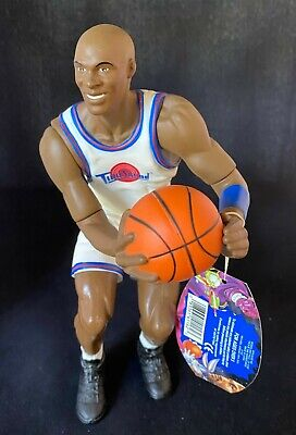 """1996 Michael Jordan #23 10"""" Space Jam Poseable Figure Doll New with Tags"""