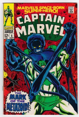 Captain Marvel # 5 (1968) NM+