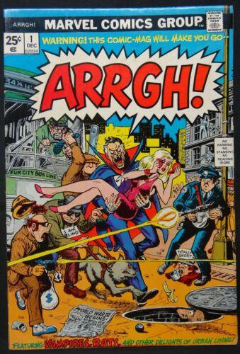 Dragonmiser Marvel Arrgh #1 1974