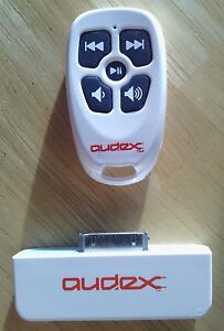 Used-Burton-White-Audex-Water-Resistant-RF-Remote-Control-for-Apple-iPod