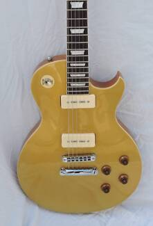 J&D Luthiers Goldtop Les Paul