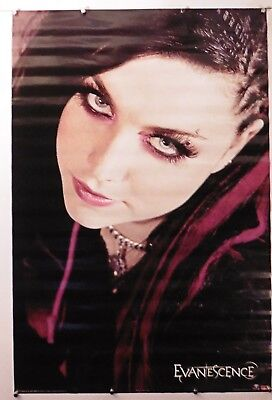 Evanescence   Amy Lee Rare Vintage Poster 24  X 36  Nos  B254