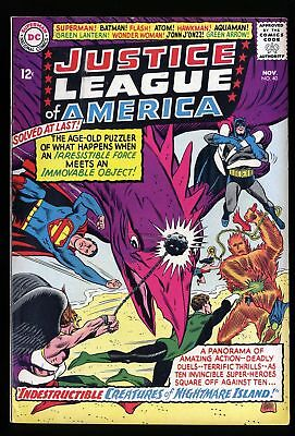 Justice League Of America #40 VF- 7.5