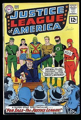 Justice League Of America #8 VG- 3.5