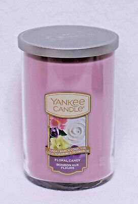 Yankee Candle Large 2-Wick Floral Candy Burns 75-110 Hours Large 2 Wick