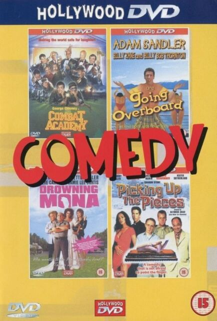 Comedy Combat Academy Going Overboard Droeing Mona Picking Up The Pieces DVD NEW