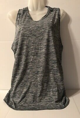Danskin Women's Tank Top Shirt Assay Large 12/14 Active wear Athletic