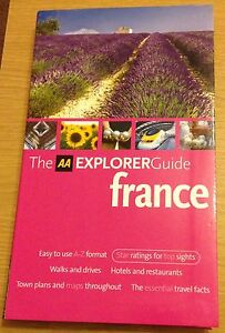 FRANCE THE AA EXPLORER GUIDE Book (Travel Guide) BRAND NEW