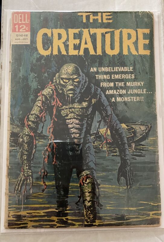 The Creature #1 1.5 FR/GD Affordable HTF Rare 2nd Printing Dell