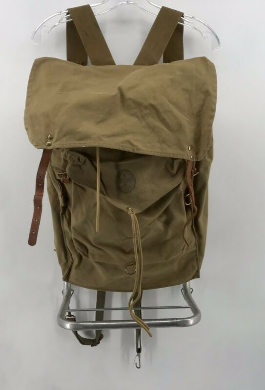 Vintage Boy Scouts of America Backpack No. 1329 Deluxe Yucca Canvas BSA