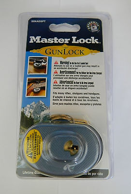 Master No. 90 Keyed Trigger Lock- Nip