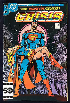 Crisis on Infinite Earths #7 NM- Death of the Supergirl