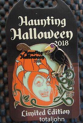 Disney Haunting Halloween 2018 Maleficent Pin - Maleficent Halloween