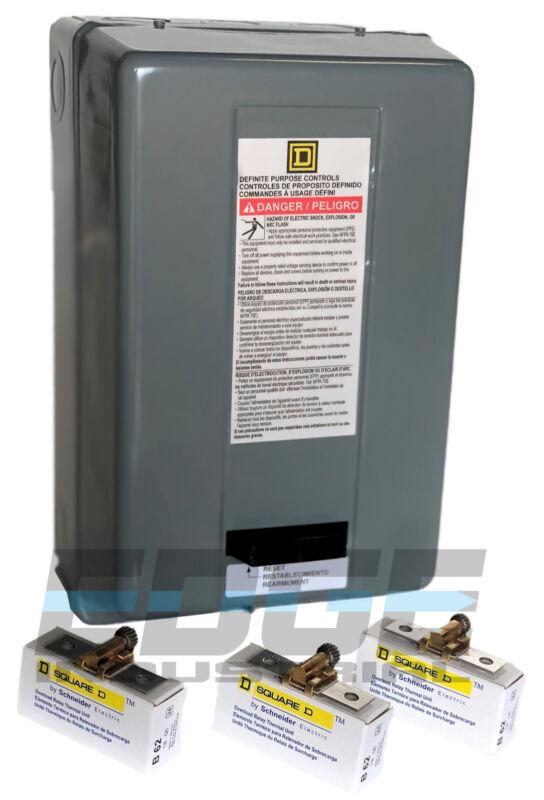 SQUARE D ELECTRIC MOTOR CONTROL 10HP 40AMP 3PH 208-240V  8911DPSO43V09