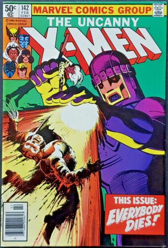 Uncanny X-Men #142 VF+ 8.5 Claremont Days Of Future Past Part 2 1981 Bronze Age