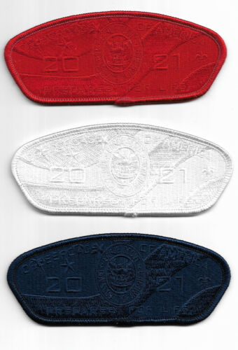 CROSSROADS OF AMERICA COUNCIL * 2021 EAGLE SCOUT CSPS * RED-WHITE-BLUE