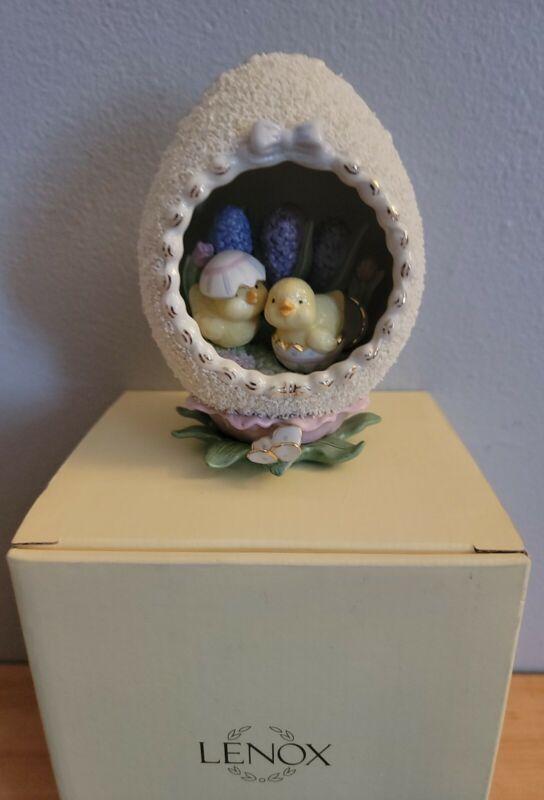 LENOX EASTER Morning Greetings 2008 ANNUALSugar Egg  Springtime in Box