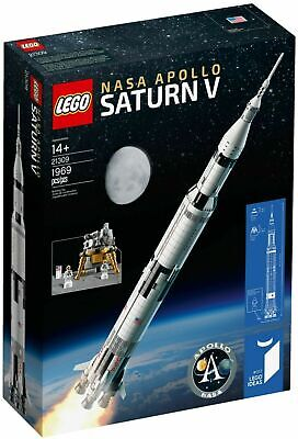 Sealed NEW LEGO 21309 NASA Apollo Saturn V