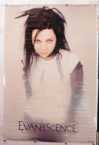 """EVANESCENCE AMY LEE SOLO vintage poster 24.25"""" X 36.25"""" NOS (b492)"""