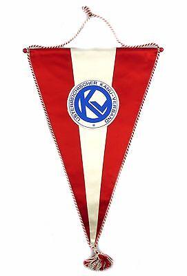 #e6350 Original alter Wimpel DDR Österreichischer Kanu Verein