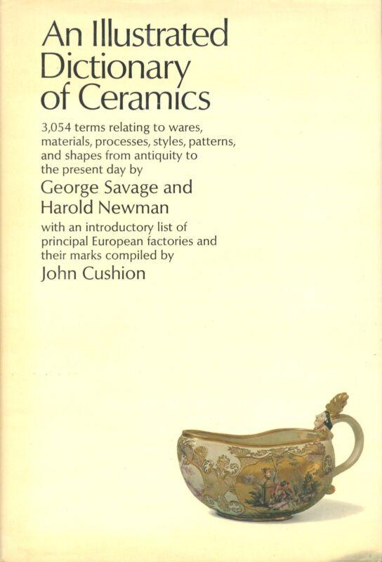 Antique Pottery Porcelain Ceramics - Definitions Terms / In-Depth Hardback Book