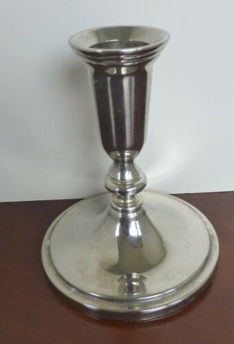 """Silverplate Candle Holder – Not """"Vintage"""" but a classic design."""