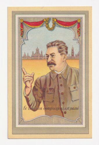 "RUSSIA DEATH OF STALIN ""LE ROULEAU COMPRESSEUR EST PASSE"" STEAMROLLER DONE 1953"