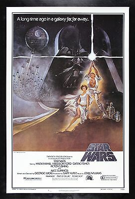 STAR WARS * CineMasterpieces 77/21-0 HAIRY BELT ORIGINAL BOOTLEG MOVIE POSTER