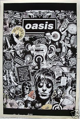 "OASIS ""DRAWING OF THE BAND & QUOTES - VERTICAL VERSION"" POSTER FROM ASIA"