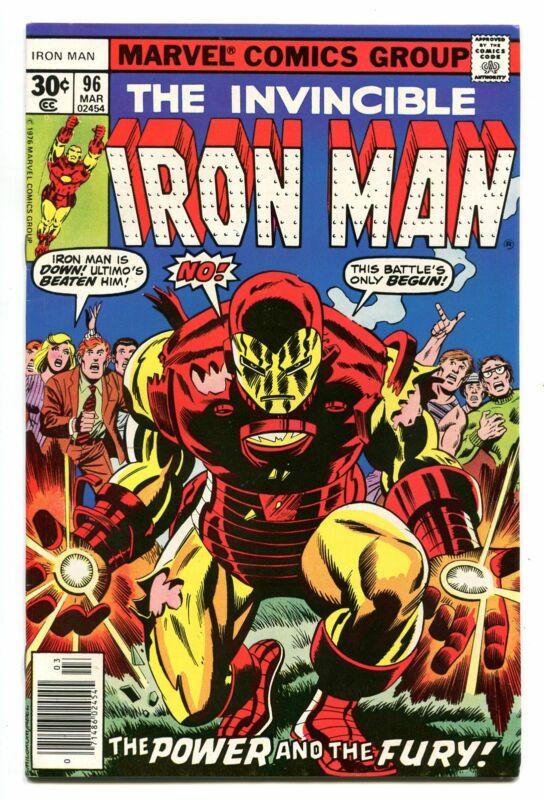 IRON MAN # 96