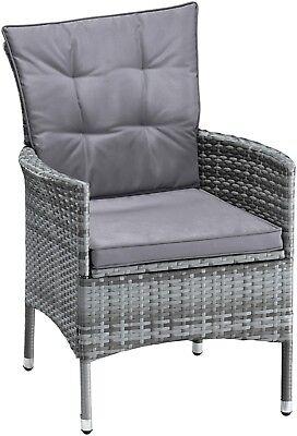 Gartenmöbel Santiago New, 6 Sessel, Stühle Stuhl  B539394