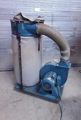 Jet Equipment Dust Collector 7471 Ph1 Volts 115-230 Rpm 3450 Amp 23-11.5-s4465