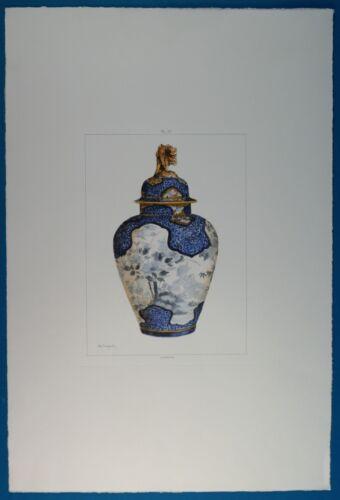 Jules Jacquemart Hand Colored Imp Delatre Paris 113 07 Pl Iv Print