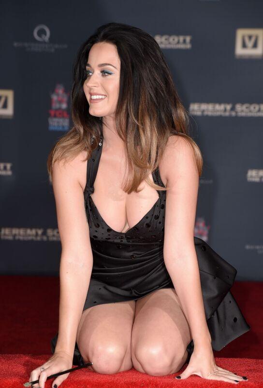 Katy Perry Kneeking On The Red Carpet 8x10 Photo Print