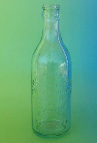 Nice Bear Mountain Spring Mineral / Soda Bottle New York