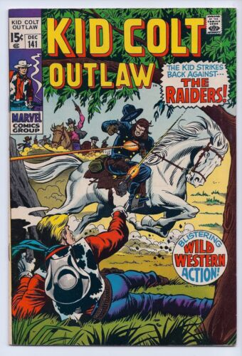Kid Colt Outlaw 141 VF 8.0 Silver Age Western Comic
