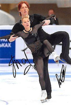 Evgenia TARASOVA / Vladimir MOROZOV - RUS - Eiskunstlauf - Foto orig. sig. (2)