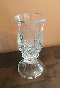 Partylite Crystal Hurricane Lamp