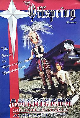 The Offspring 1999 Americana Original Video Promo Poster