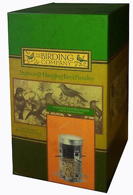 The Birding Company Station 8 Hanging Bird Feeder