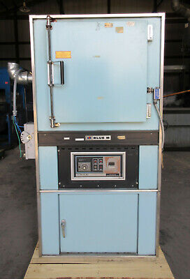 Blue M Industrial Oven 343 C 650 F Model Dc-206f 3 Phase 208-240 Vac