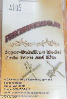 Precision Scale O 4105 Governor Westinghouse Dual Air Pump Brass Castngs